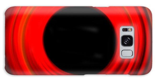 Form Galaxy Case - Red Abstract Circle by Ana De Sousa
