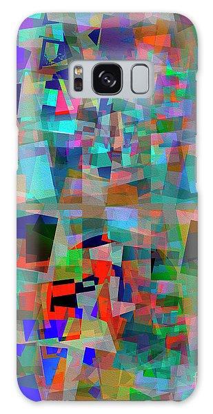 Galaxy Case featuring the digital art Red Alert by Edmund Nagele