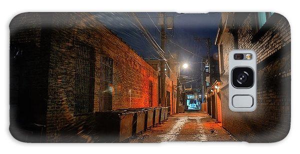 Brick House Galaxy Case - Red Alley by Bruno Passigatti