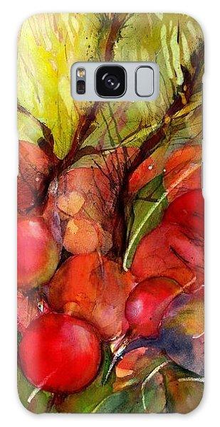 Red Autumn Berries Galaxy Case