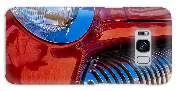 Red Car Chrome Grill Galaxy Case