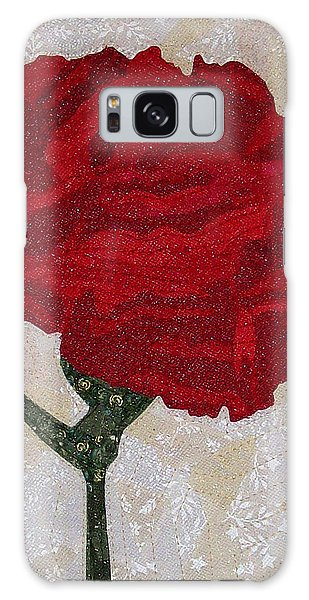 Red Carnation Galaxy Case