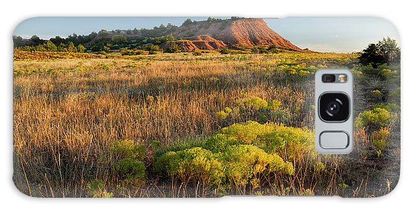 Galaxy Case featuring the photograph Red Hills Evening by Scott Bean