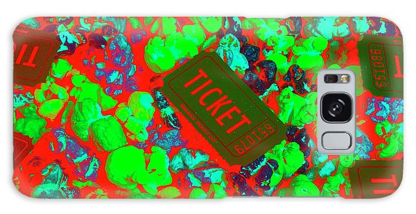 Pass Galaxy Case - Red Hot Tickets by Jorgo Photography - Wall Art Gallery
