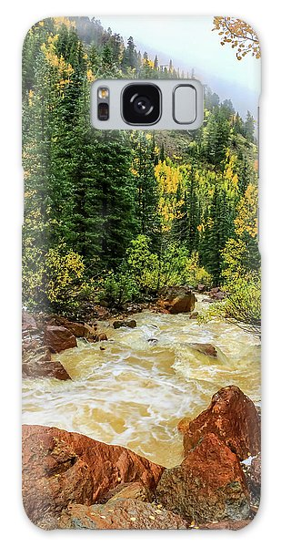 Red Mountain Creek In San Juan Mountains Galaxy Case