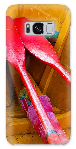 Red Oars Galaxy Case
