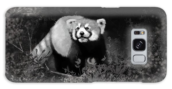 Galaxy Case featuring the digital art Red Panda by Angela Murdock