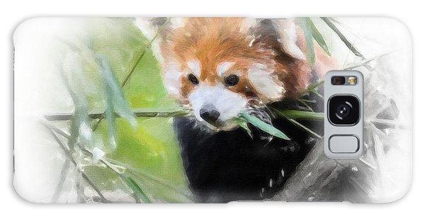 Red Panda Galaxy Case