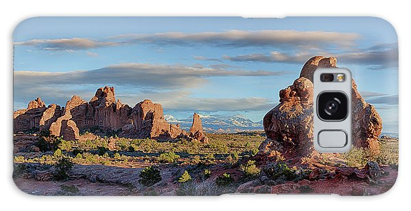 Red Rock Formations Arches National Park  Galaxy Case