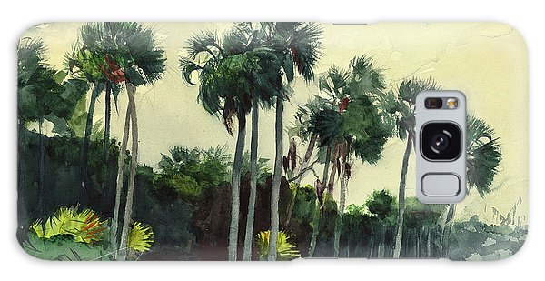 Old Florida Galaxy Case - Red Shrt, Homosassa, Florida by Winslow Homer