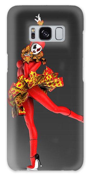Catwalk Galaxy S8 Case - Red Spanish Pierrette by Joaquin Abella