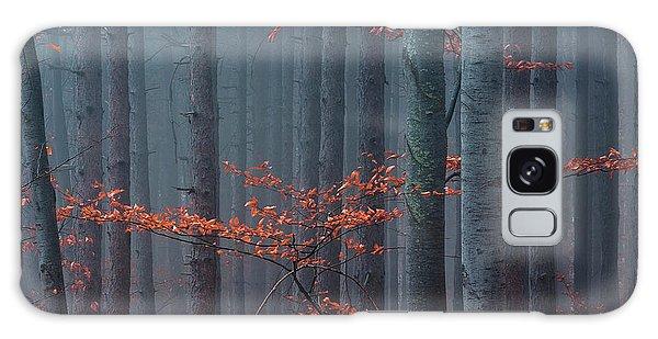 Red Wood Galaxy Case