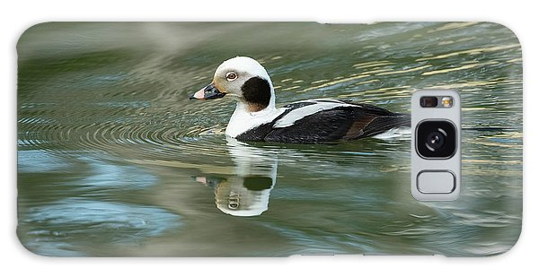 Reflecting On A Long-tailed Duck #1 Galaxy Case