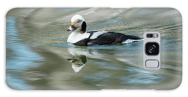 Reflecting On A Long-tailed Duck #2 Galaxy Case