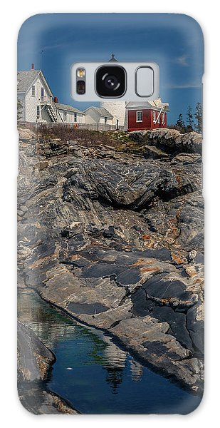 Reflecting On Pemaquid Light Galaxy Case