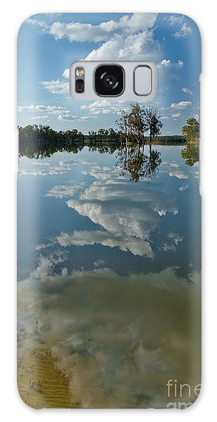 Reflections By The Lake Galaxy Case
