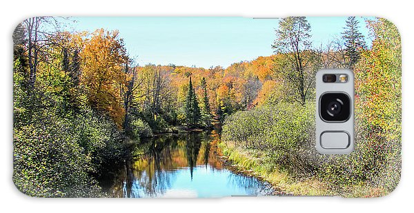 Reflections Of Fall In Wisconsin Galaxy Case