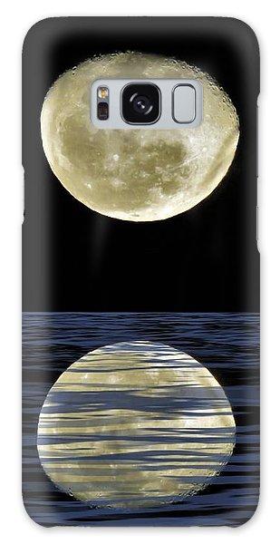 Reflective Moon Galaxy Case