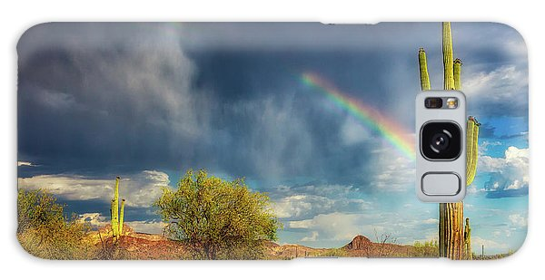 Galaxy Case featuring the photograph Respite From The Storm by Rick Furmanek