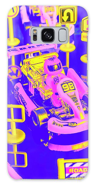 Sport Car Galaxy Case - Retro Race Day by Jorgo Photography - Wall Art Gallery