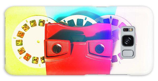Fun Galaxy Case - Retro Reel by Jorgo Photography - Wall Art Gallery