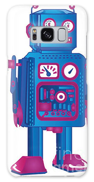 1950s Galaxy Case - Retro Robot 1 by Adam Hicks