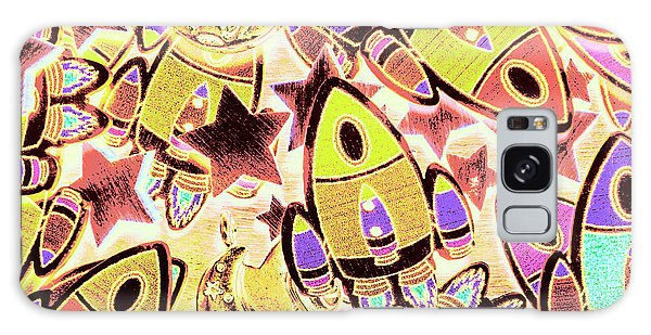 Technology Galaxy Case - Retro Rockets by Jorgo Photography - Wall Art Gallery