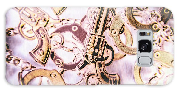 Guns Galaxy Case - Revolting Justice by Jorgo Photography - Wall Art Gallery