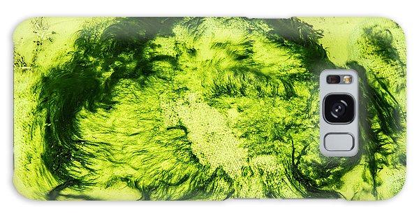 Rhapsody In Green Galaxy Case