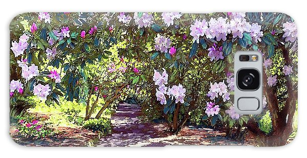 Oklahoma Galaxy Case - Rhododendron Garden by Jane Small