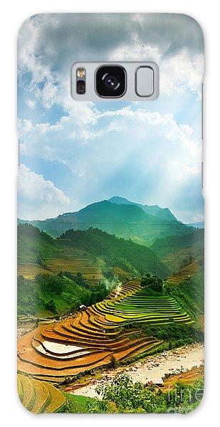 Ecology Galaxy Case - Rice Fields On Terraced Of Mu Cang by John Bill