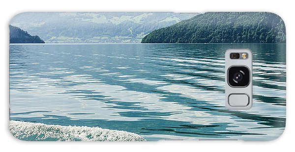 Ripples On Lake Lucerne Galaxy Case