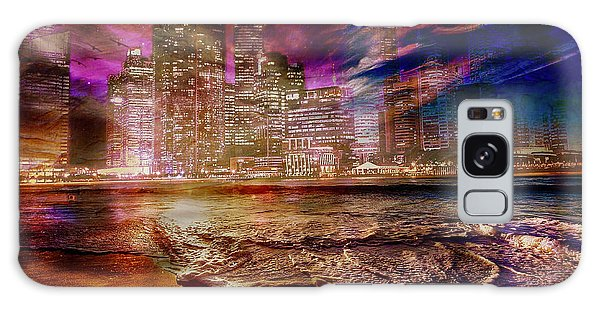 Rising Tide On The Hudson Montage Galaxy Case