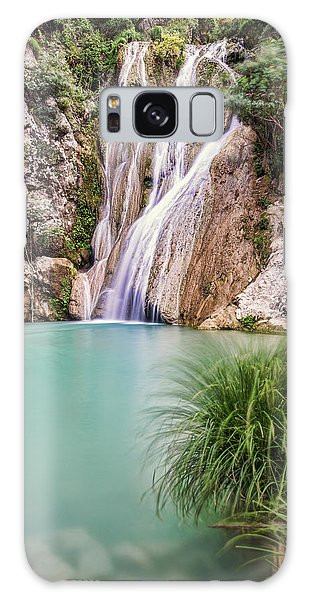 River Neda Waterfalls Galaxy Case