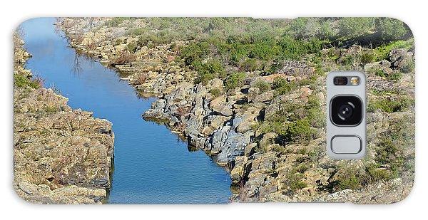 River On The Rocks. Color Version Galaxy Case