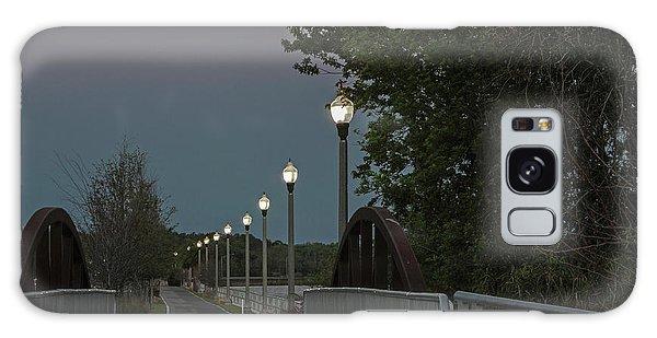 River Walk Moon Rise Galaxy Case
