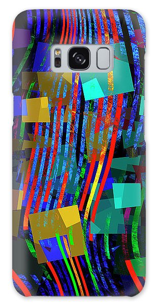 Galaxy Case featuring the digital art Rivers Of Babylon by Edmund Nagele