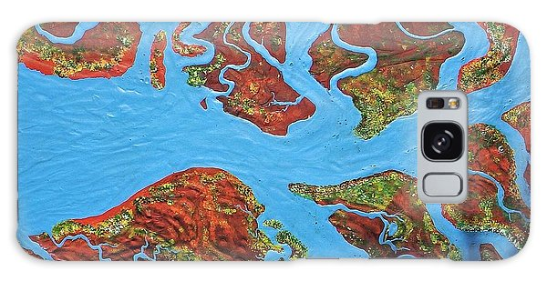 Galaxy Case - Rivers On The Cape York by Joan Stratton