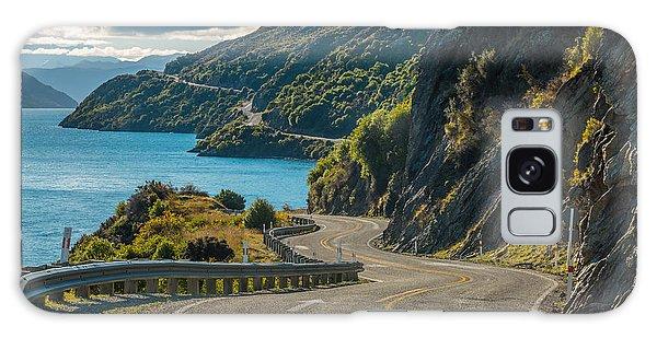 Pass Galaxy Case - Road Along Lake Wakatipu, Queenstown by Naruedom Yaempongsa