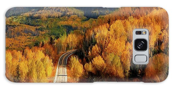 Road Less Traveled Galaxy Case