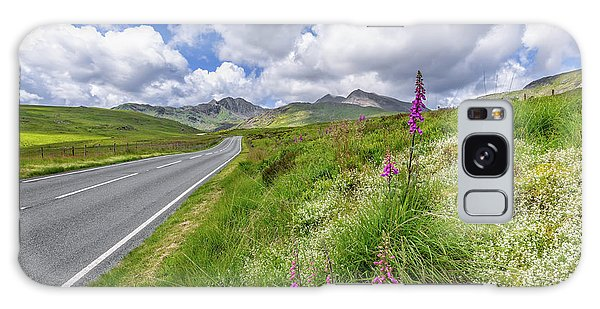 Galaxy Case - Road To Snowdon Mountain by Adrian Evans