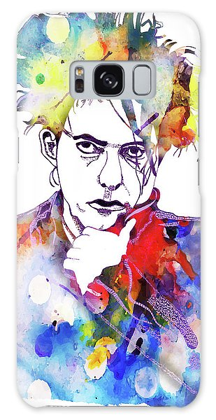 Robert Smith Music Galaxy Case - Robert Smith 3 by Christine Perry