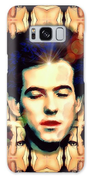 Robert Smith Music Galaxy Case - Robert Smith True Genius by Robert Radmore