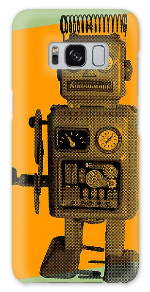Metal Galaxy Case - Robot by Freelanceartist