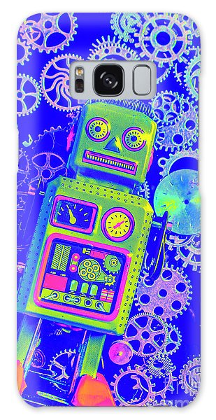 1950s Galaxy Case - Robot Reboot by Jorgo Photography - Wall Art Gallery