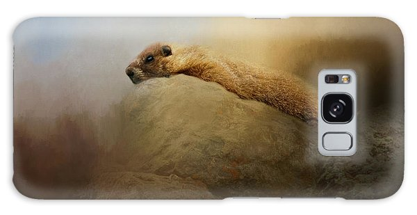 Groundhog Galaxy Case - Rock Chuck by Lana Trussell