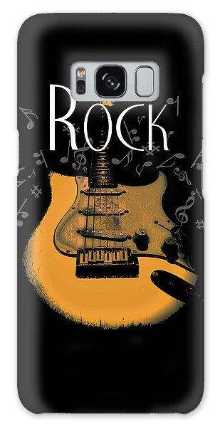 Rock Guitar Music Notes Galaxy Case