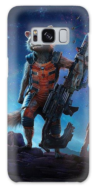 The Avengers Galaxy Case - Rocket  Guardians Of The Galaxy 2 by Geek N Rock