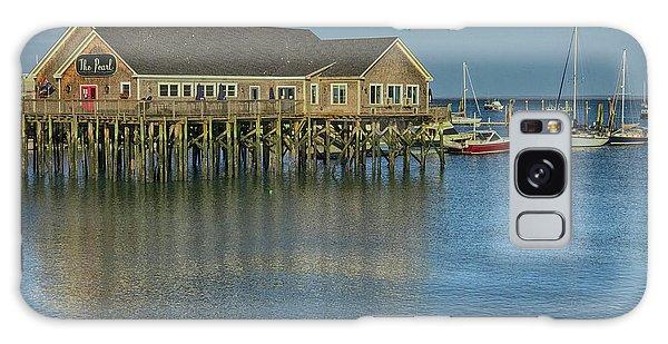 Rockland Harbor  Galaxy Case