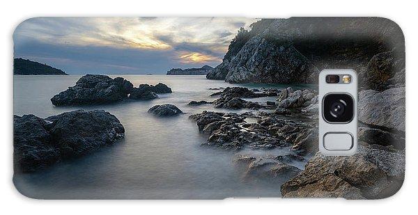 Rocky Coast Near Dubrovnik Galaxy Case